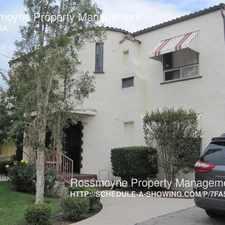 Rental info for 1321 E California Ave in the Citrus Grove area