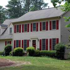Rental info for Great Four Bedroom Peachtree City Home