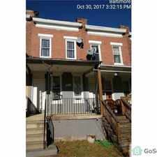 Rental info for Nice remodeled rowhome close to Stadiums, Casino and Downtown!! in the Baltimore area