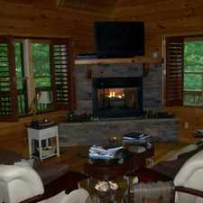 Rental info for Spacious 3BR 2BA Cabin in Gated Mountain Lake Community