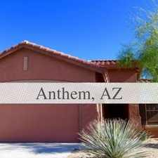 Rental info for The Best of the Best in the City of Anthem! Save Big!