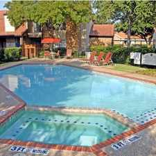 Rental info for 3501 N Jupiter Rd #1398 in the Dallas area