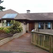 Rental info for Spectacular View- Ocean Front Half Duplex, Cowichan Bay