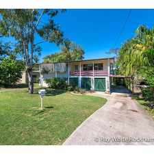 Rental info for Frenchville Gem! in the Rockhampton area