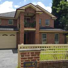 Rental info for 5 Bedroom home !!!! in the Sydney area