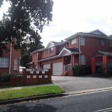 Rental info for MODERN, LIGHT FILLED 2 BEDROOM TOWNHOUSE in the Sydney area