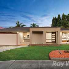 Rental info for RENOVATED ENTERTAINING PANACHE IN PEACEFUL COURT SETTING in the Melbourne area