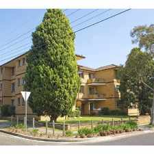 Rental info for TWO BEDROOM UPDATED UNIT CLOSE TO ALL AMENITIES in the Wiley Park area