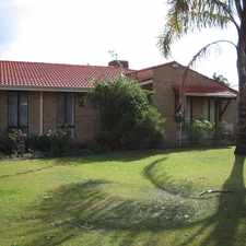 Rental info for WELL PRESENTED FAMILY HOME in the Perth area