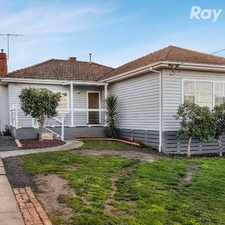 Rental info for CHARMING AND REFURBISHED WEATHERBOARD HOME! in the Watsonia area
