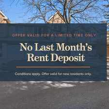 Rental info for Aspen Village Townhomes in the Cumberland area