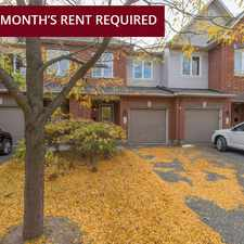 Rental info for Timberline Townhomes in the Gloucester-south Nepean area