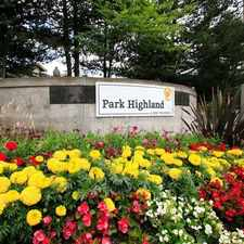 Rental info for Park Highland