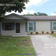 Rental info for 11765 126th Terrace