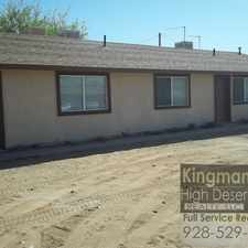 Rental info for N Roosevelt St & Kino Ave in the Kingman area