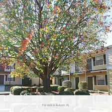 Rental info for Summer Brooke Apartments is two minutes from Auburn University.