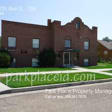 Rental info for 808 17th Ave S in the Nampa area