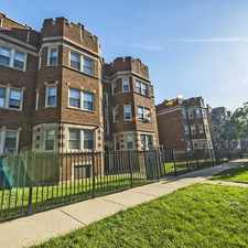 Rental info for 7109-15 S Ridgeland in the Chicago area