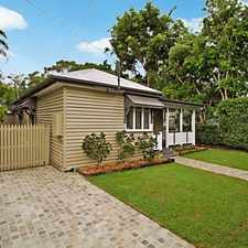 Rental info for PICTURESQUE CHARACTER HOME in the Indooroopilly area