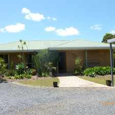 Rental info for FAMILY FRIENDLY HOME ON HALF AN ACRE - BREAK LEASE in the Hervey Bay area