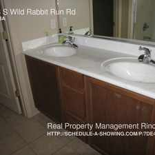 Rental info for 12153 S Wild Rabbit Run Rd
