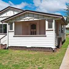Rental info for Cute cottage style home in quiet area!! in the Toowoomba area