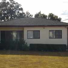 Rental info for Recently Updated 3 Bedroom Home in the Lalor Park area