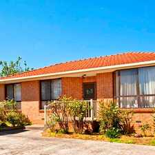 Rental info for Three bedroom in the heart of Ringwood in the Melbourne area