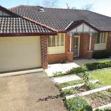 Rental info for ****DEPOSIT TAKEN********** BEAUTIFUL MODERN PROPERTY in the West Pennant Hills area