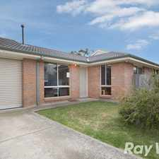 Rental info for REAR PERGOLA GETTING INSTALLED BEFORE NEW TENANCY! in the Pakenham area