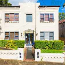 Rental info for Charming Art Deco Apartment in the Sydney area