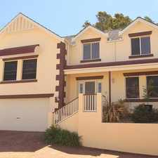 Rental info for Immaculate Townhouse in the Kiama area