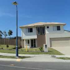 Rental info for Beautiful Modern Family Home Overlooking The Parklands in the Redbank Plains area