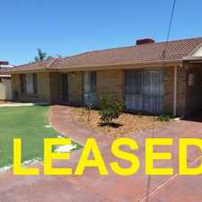 Rental info for 4X2 HOME WITH PLENTY OF PARKING in the Gosnells area