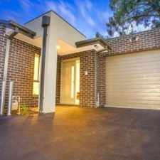 Rental info for IMMACULATE ONE YEAR OLD UNIT in the Melbourne area