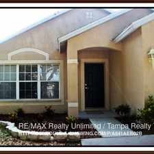 Rental info for 464 Summer Sails Dr in the Valrico area