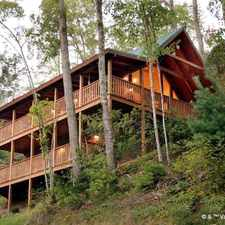 Rental info for Big Sky Cabin, 2 Bedrooms, Hot Tub, Pool Access, Pool Table, Sleeps 8