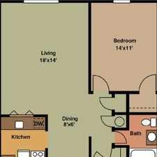 Rental info for 756 sq. ft. \ 1 bathroom \ 1 bedroom - convenient location.