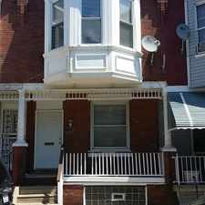 Rental info for NEWLY RENOVATED PROPERTY IN SOUTHWEST PHILLY in the Kingsessing area