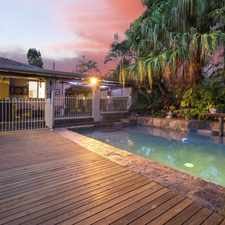 Rental info for A True Entertainer, Absolutely Stunning Home in the Kuraby area