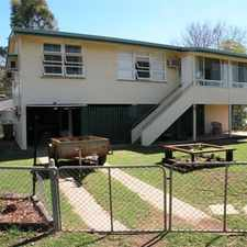 Rental info for 70 PALMER STREET in the Dalby area