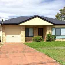 Rental info for Spacious Family Home, Large Back Yard in the Brisbane area