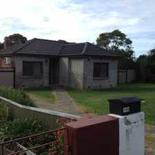 Rental info for Handy Location with Large Rear Sheds
