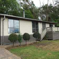 Rental info for UNDER APPLICATION!!!!!!!!Within The Budget in the Mount Evelyn area