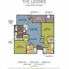 Rental info for $1540 2 bedroom Apartment in New London County Groton