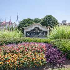 Rental info for Stone Mill