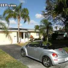 Rental info for Two Bedroom In Oakland Park in the Fort Lauderdale area