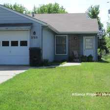 Rental info for 2315 Willow Ln.