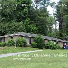 Rental info for 1423 11th Street Dr NW in the Hickory area