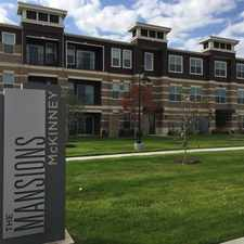 Rental info for The Mansions McKinney